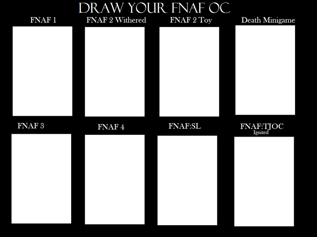 how to draw fnaf 1