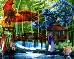 KYO and Kenshin by KenshinKyo