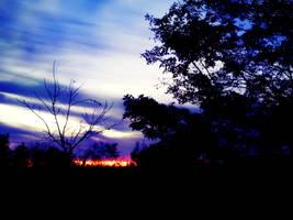 Sunset dusk 10-19-09 by KenshinKyo