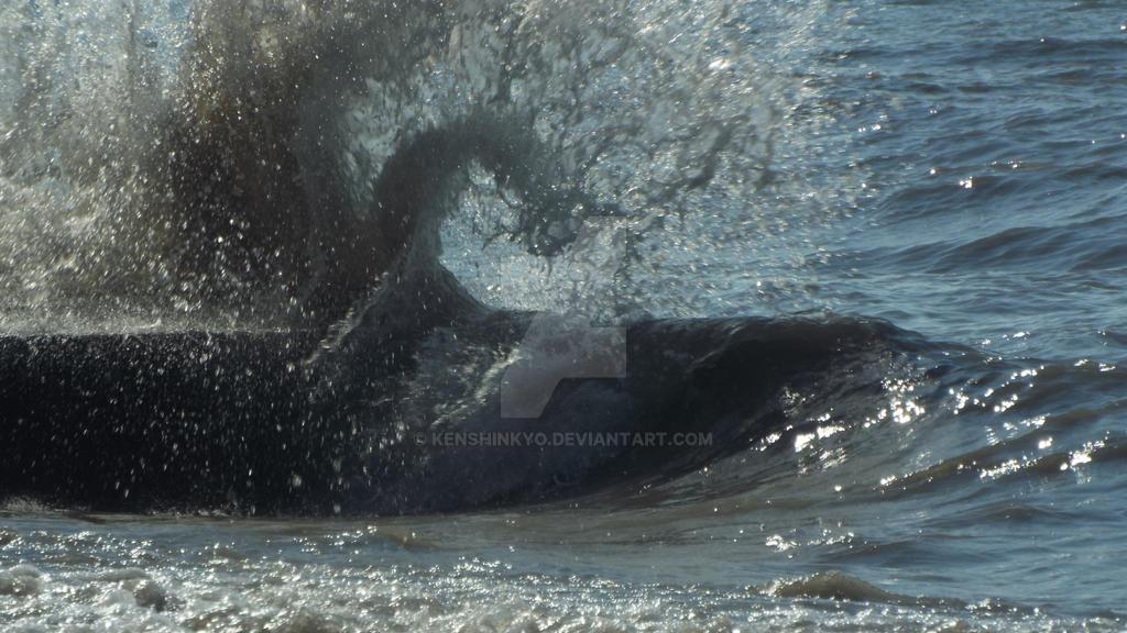 wave breaking 2 by KenshinKyo