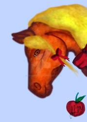 Apple Jack horse head