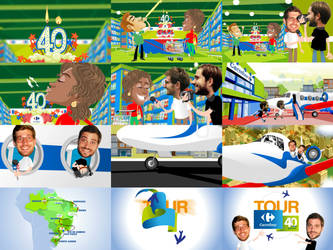 CARREFOUR 40 ANOS VideoAnimation2015 by jairomiguel