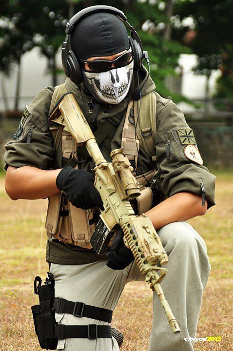 Ghost - Modern Warfare 2 by akagii2004