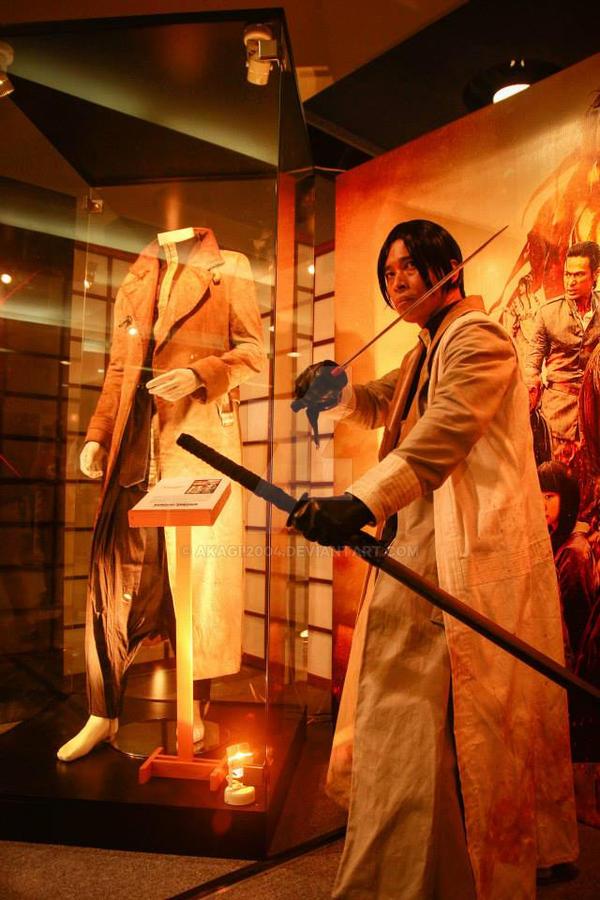 Aoshi Shinomori (live action ver) from Toycon 2014 by akagii2004