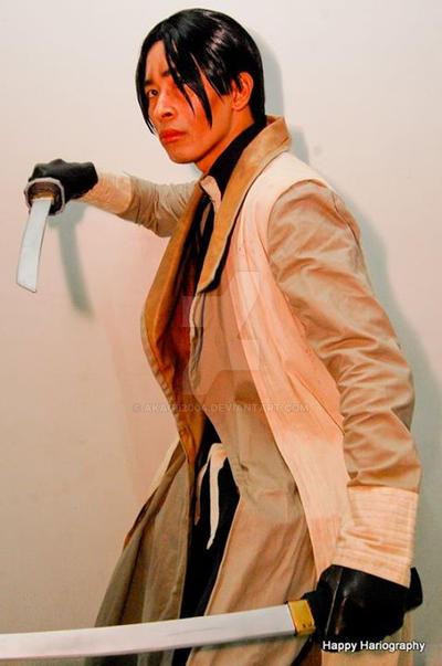 Aoshi Shinomori by akagii2004