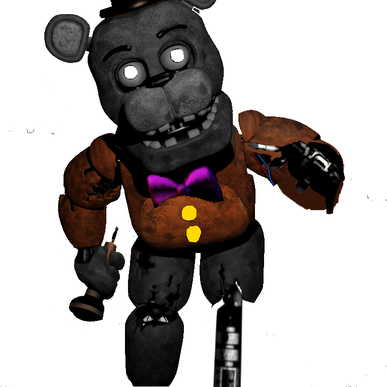 Prototype From FNAF World Halloween Edition by Spruj-FNAFfan123 on ...