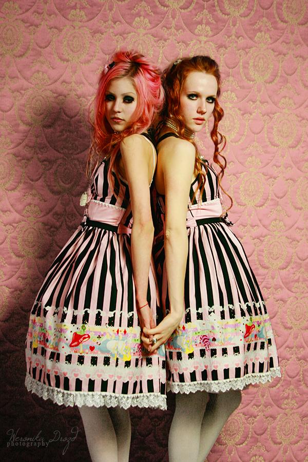 Candy floss girls by blackheartarew
