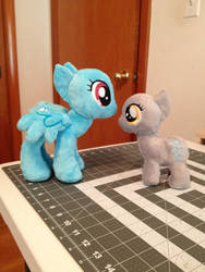 Small mare and filly wip