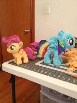 Scootaloo and RD wip