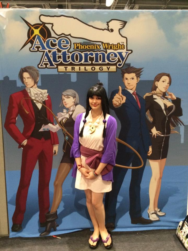 Mcm Expo Stands For : Maya at the capcom stand london mcm expo october by
