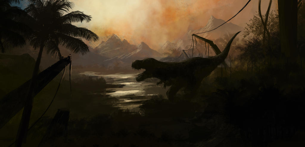 Jurassic World Tribute by greensandsguy