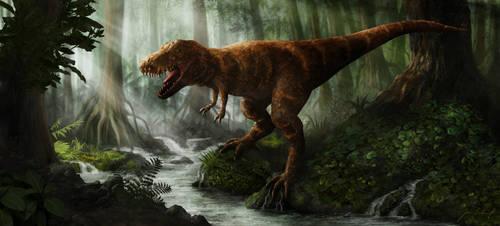 T-Rex by greensandsguy