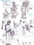 Idrisfall Sketch Dump04 by StrayFlame