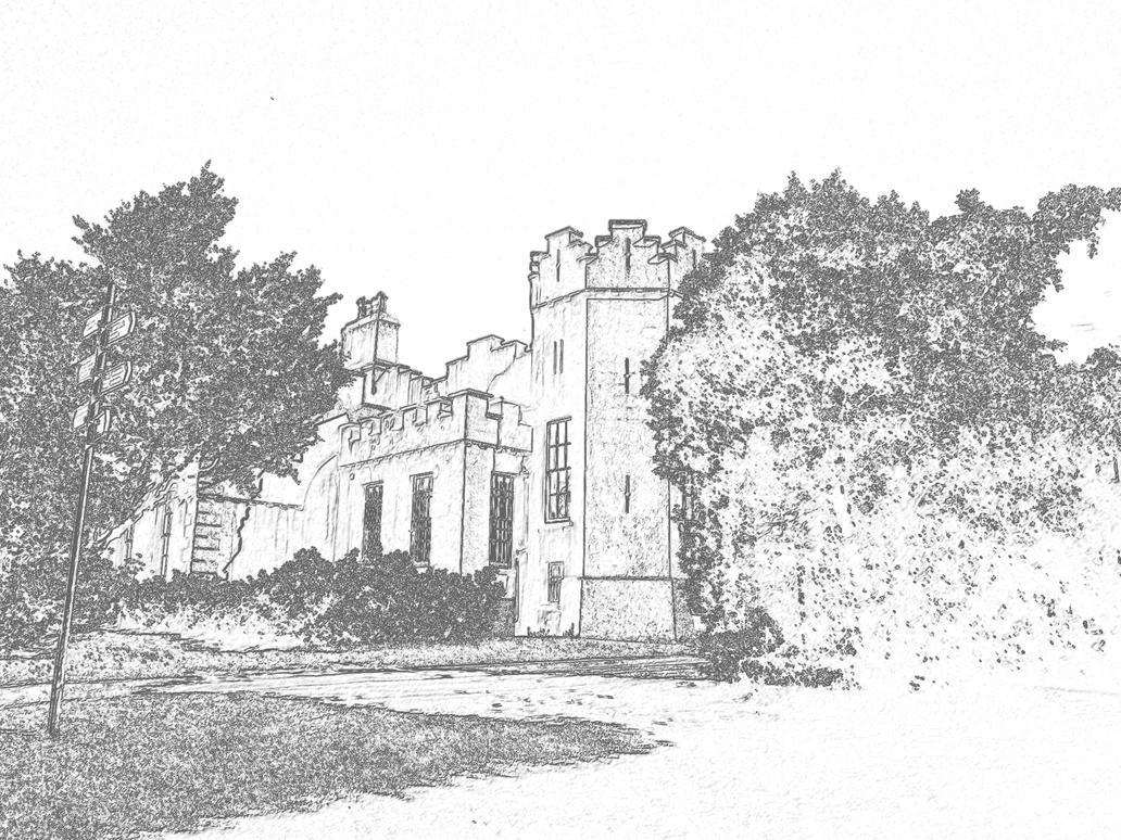 A castle...! by zodiark619