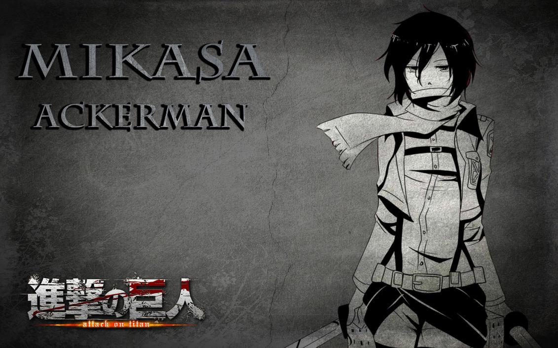 Mikasa Ackerman by zodiark619