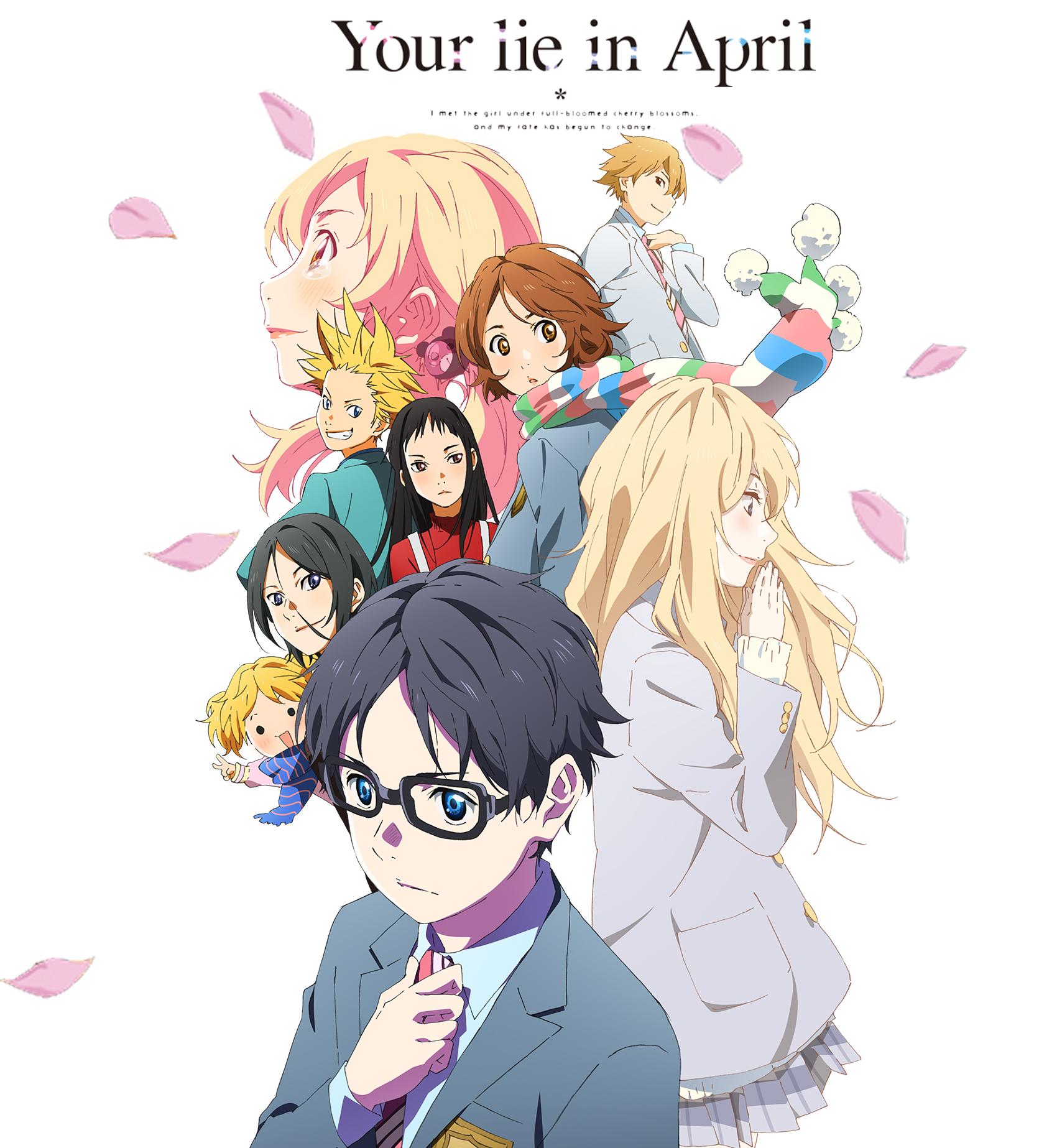 Your Lie in April (Shigatsu wa Kimi no Uso) by zodiark619