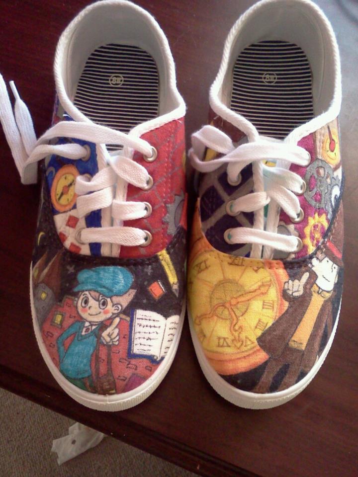 layton shoes by Spongebobluvr66