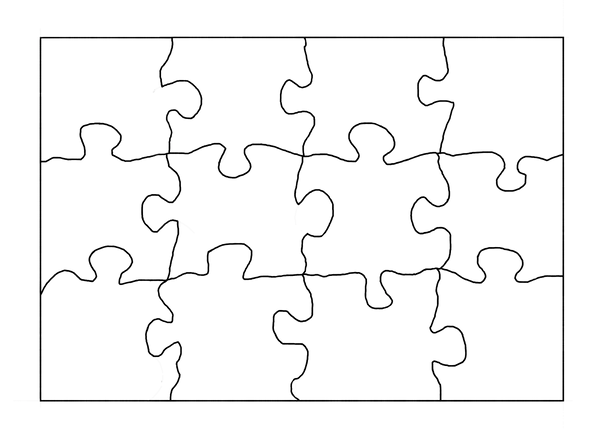 Puzzle outline by hanto on deviantart for Large blank puzzle pieces template