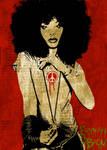 Erykah Badu poster art