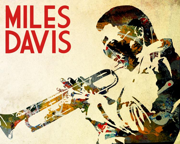 Miles Davis poster by KyleValenti