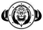 Lion shield design