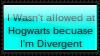 I wasn't allowed at Hogwarts because I'm Divergent by Dex-Apenger