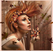 Autumn Leaves by JacquelineLecocq