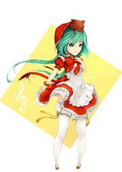 Miku Hatsune by dinhoxi