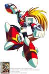 MEGAMAN X EX ARMOR ZERO OFFICIAL ARTWORK