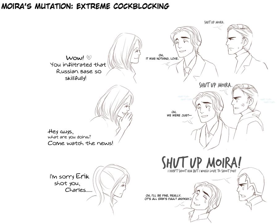 Shut Up Moira by megani