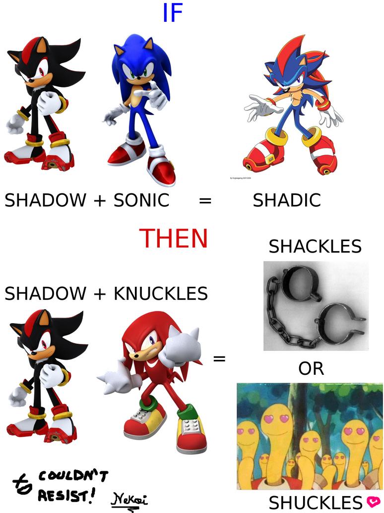 Shadow+Knuckles+... by tchannekoi on DeviantArt