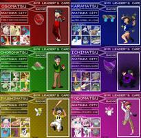 Osomatsu / Pokemon Crossover