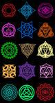 Summoner Saga Magic Circles