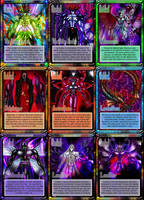 Cards of Demon Lords by moai666