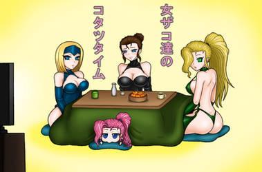 Kotatsu Time for Female Zakos by moai666