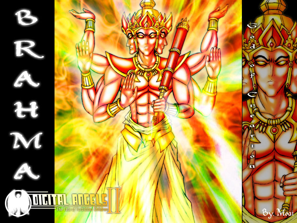 brama the god of creation by moai666 on deviantart
