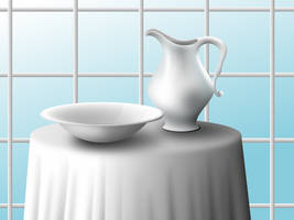 Pitcher and Bowl by epi-centric