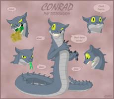 Conrad the Tatzelwurm by Kryptid