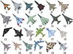 Military Jet Cursors