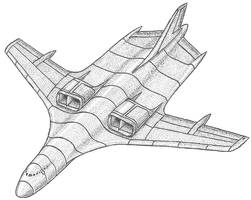 Transport Aircraft Concept by Kryptid