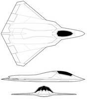 Boeing NGAD Profile by Kryptid