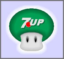 7UP Mushroom by Kryptid