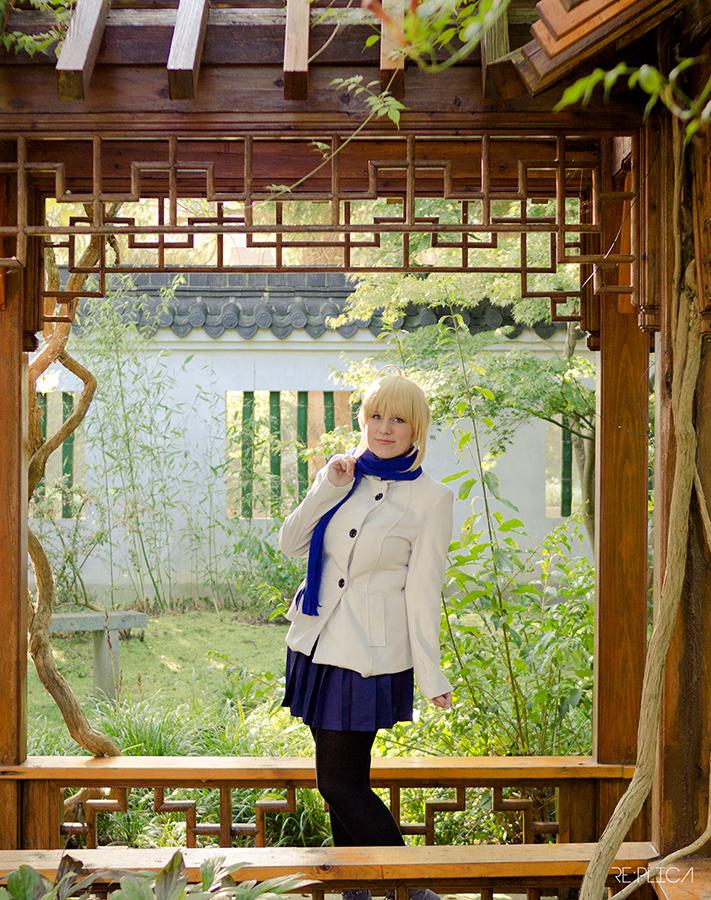 A stroll through the gardens by MikoBura