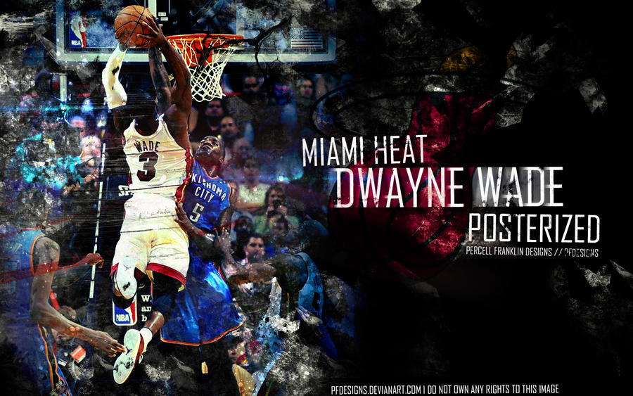 Dwayne Wade by PFDesigns