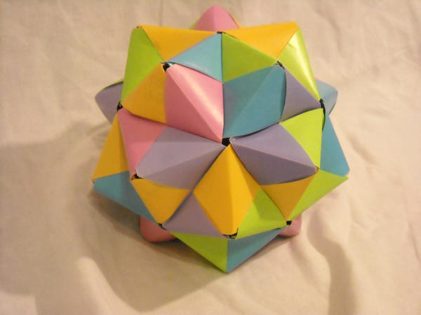 3d Origami Easy Ball
