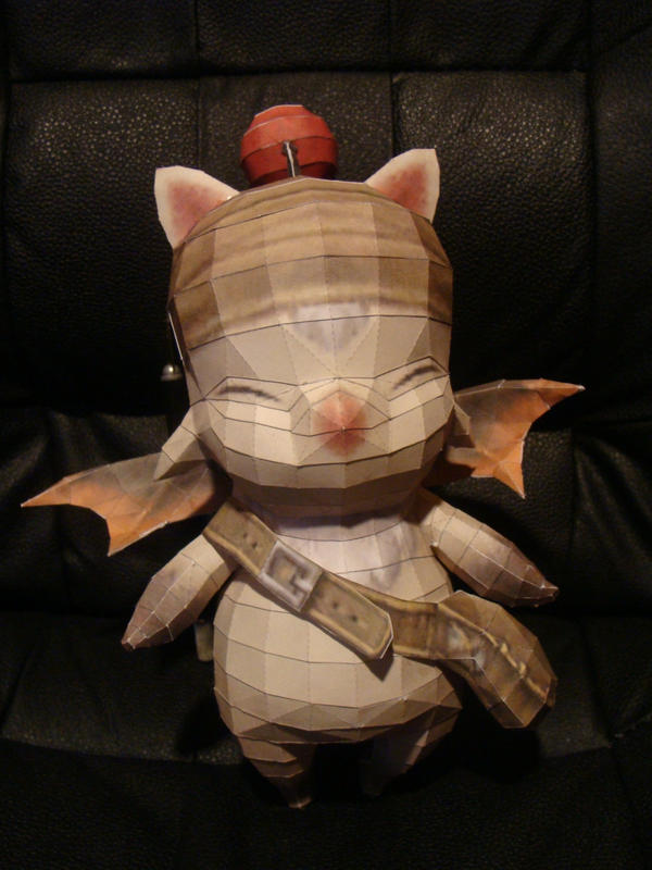 Nomad Moogle Papercraft by Jophish126