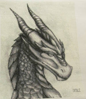 Dragon Cross Stitch -Completed
