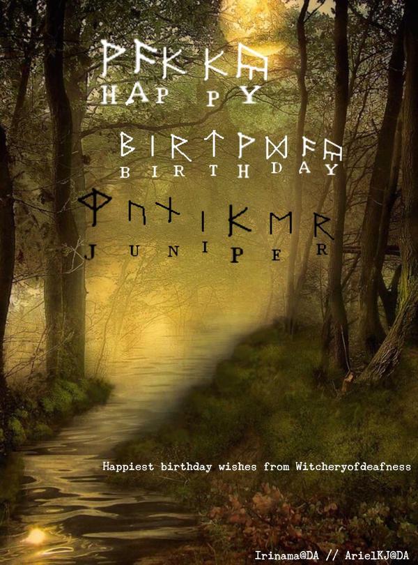 Happy Birthday Juniper! by ArielKJ
