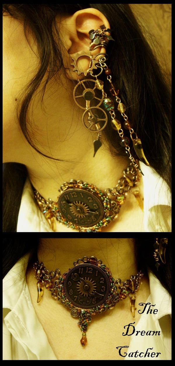 The Dreamcatcher Jewelry Set by JynxsBox