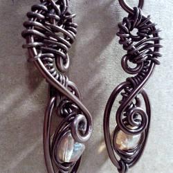 Elven Lantern Earrings by JynxsBox